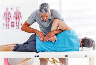Manual therapy for lower back pain